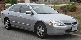 03 04 Honda Accord EX Sedan