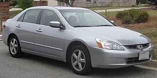 Honda Accord (North America seventh generation) Motor vehicle