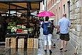 0 Venise, pluie sur le marché de l'Erberia.JPG