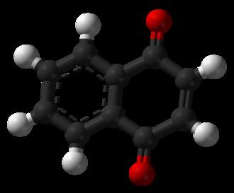 1,4-Naphthoquinone - Image: 1,4 Naphthoquinone 3D balls