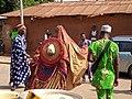 10 Janvier à Ouidah; Egoun goun en déambulation 01.jpg