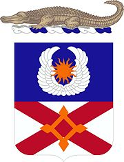 111th Aviation Regiment Coat of Arms
