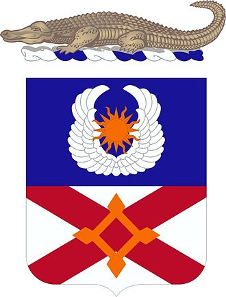 Florida Army National Guard - Image: 111th Aviation Regiment Coat of Arms