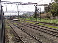 11301 Udyan Express on approach to Lonavala station.jpg