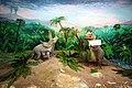 116 Mozeh Tarikh Tabiei ماکت دایناسور، موزه تاریخ طبیعی استان قم.jpg