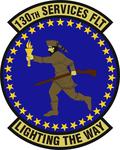 130 Services Flt emblem.png