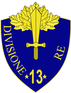 13th Infantry Division Re division