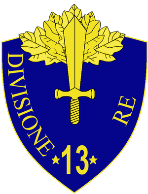 13th Infantry Division Re - 13th Infantry Division Re Insignia