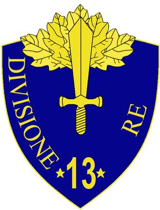 13th Infantry Division Re - 13th Infantry Division Re Insignia