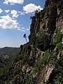 146 Cingle del Fitó, des del camí de l'Ermita, Sant Miquel del Fai.JPG