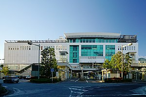 Odawara Station - Image: 161223 Odawara Station Odawara Japan 01s 3