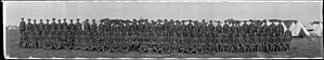 162nd (Parry Sound) Battalion, CEF - The 162nd Battalion in training at the new camp in Niagara-on-the-Lake