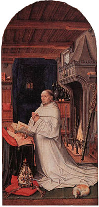 16th-century unknown painters - Portrait of Abbot Christiaan de Hondt - WGA23616.jpg