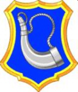 181st Infantry Regiment (United States) - Image: 181st Infantry Regiment DUI