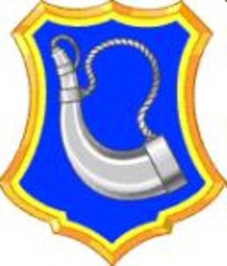 181st Infantry Regiment (United States) - Image: 181st Infantry Regiment DUI