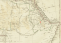 1835 Gondar detail map Northern Africa by Thomas Bradford BPL m0612003.png