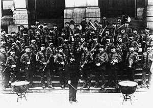 John Philip Sousa - Sousa and his newly formed civilian band, 1893