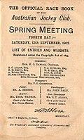 1902 AJC Randwick Plate Racebook P2.jpg