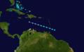 1905 Atlantic tropical storm 1 track.png