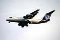 190al - SN Brussels Airlines Avro RJ 100, OO-DWJ@LHR,05.10.2002 - Flickr - Aero Icarus.jpg