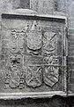 1920. Villena. Iglesia de Santiago. Escudos, calle Ramón y Cajal.JPG