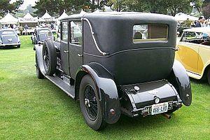 Bentley Speed Six - Rear view