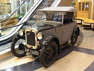 New Avon (coachbuilder) - 1928 Austin Seven sportsman's two seater