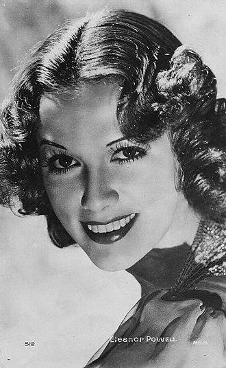 Eleanor Powell - 1930s publicity photo
