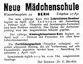 1938, Neue Mädchenschule Bern am Waisenplatz 29.jpg