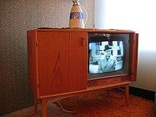 Televisore dei primi anni cinquanta