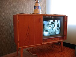 1950s television set