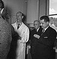 1957 Visite du ministre de l'agriculture Mr ANDRE DULIN au CNRZ-50-cliche Jean Joseph Weber.jpg