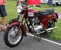 1961 Triumph 3TA Twenty One (maroon).jpg