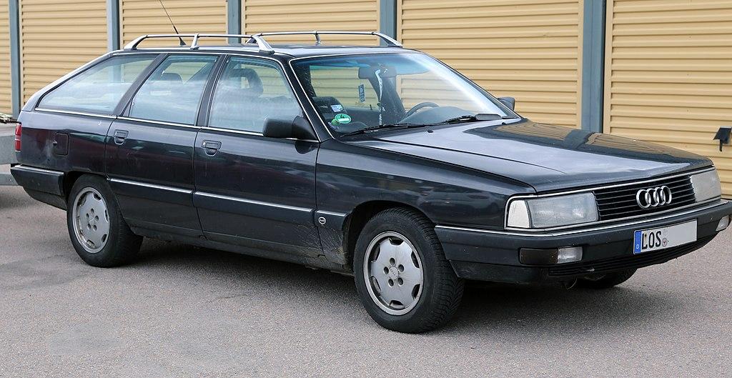 File:1990 Audi 100 Avant TDI front.jpg - Wikimedia Commons