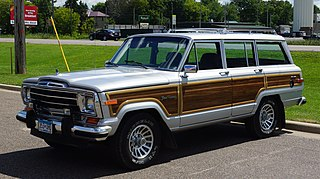 Jeep Wagoneer (SJ) Sport utility vehicle produced by Kaiser, AMC, and Chrysler