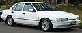 1991-1992 Ford EB Fairmont Ghia sedan 01.jpg