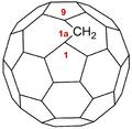 1aH-1(9)a-homo(C60-Ih)(5,6)fullerene.png