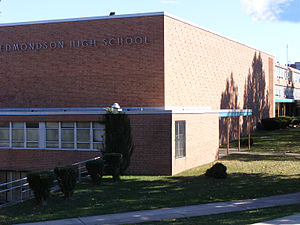 Edmondson-Westside High School - Image: 1edmondsonhs 07