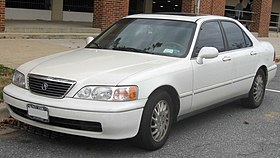 Acura RL Wikipedia - Acura rl 2002 parts