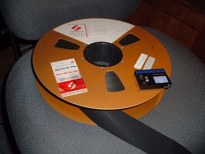 2-inch Quad Tape Reel with miniDV cassette.jpg