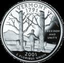 Quarter of Vermont