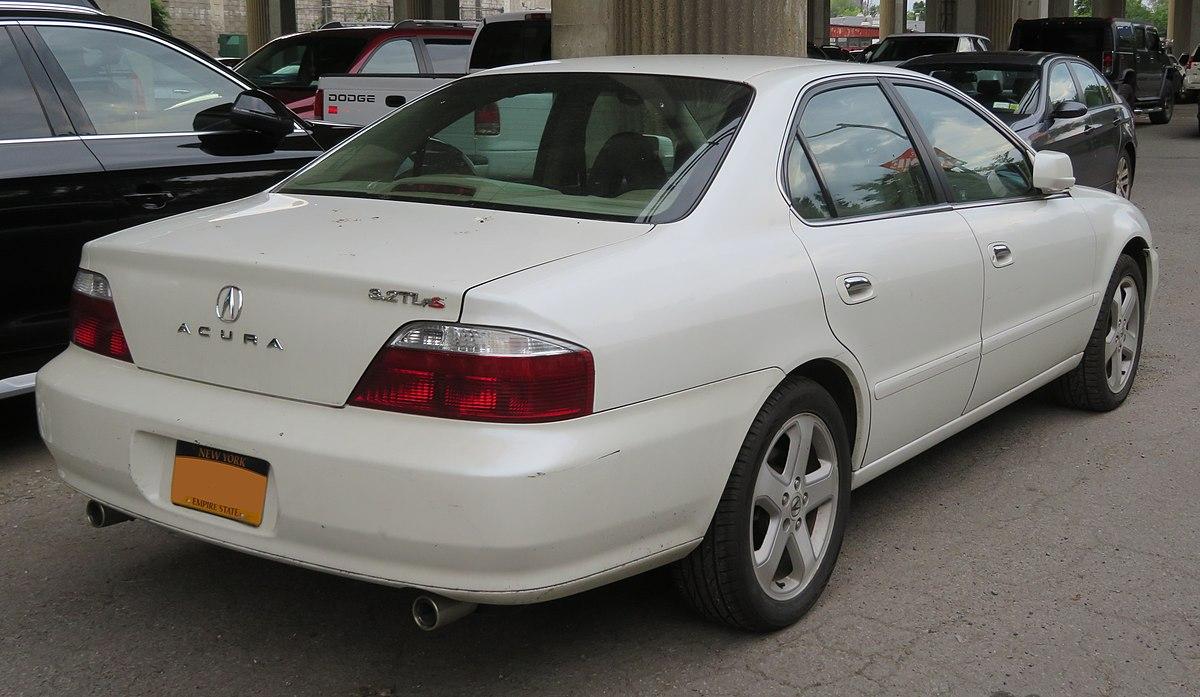 File 2002 2003 Acura 3 2tl S Rear 7 30 18 Jpg Wikimedia Commons