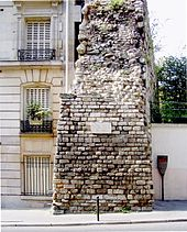 2003.07.23 Photo 010 Paris V Enceinte de Philippe Auguste reduct01.jpg