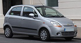 2007 Chevrolet Matiz Se 1 0 Front Jpg