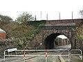 2007 at Dockyard railway station - Boscawen Place bridge.jpg