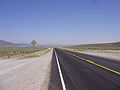 2008-07-09 View north along Nevada State Route 278 near Eureka Airport in Diamond Valley.jpg