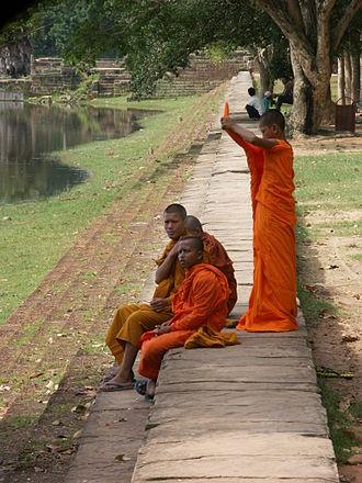 Banteay Kdei - Srah Srang royal bathing pond for ritual bathing