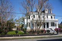 Il Garden District di New Orleans, luogo delle riprese, all'indirizzo 2707 Coliseum Street.