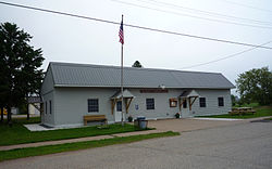 Waucedah Township Hall, Loretto