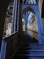 200 Santuari de la Misericòrdia (Canet de Mar), escala d'accés al cambril de la marededéu.JPG